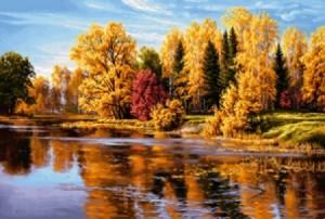 Осень  - Гобелен