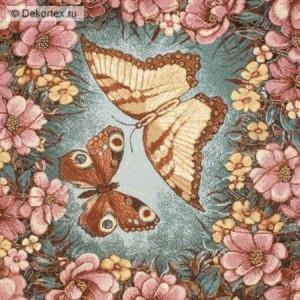 Наволчка Цветы и бабочки - Гобелен