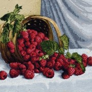 Розовый ирис - Гобелен