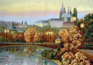 Прага  - Гобелен