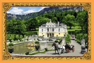 Замок Линдерхов - Гобелен