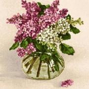 Корзина с полевыми цветами - Гобелен