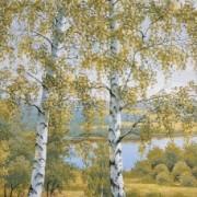 """""""Восход"""" - Гобеленовая картина в багетной раме"""