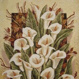 Наволочка Белые каллы - Гобелен (МТОК)