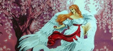 Белый ангел - Гобелен