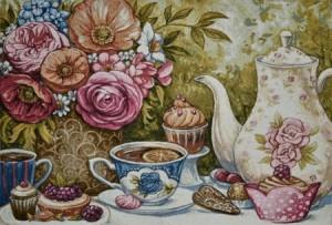 Чай с лимоном - Гобелен