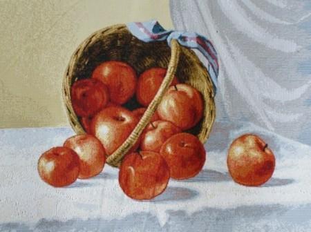 Корзина с яблоками - Гобелен