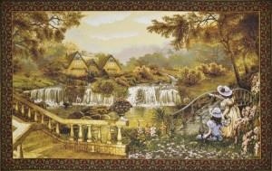 Дом у водопада - Гобелен