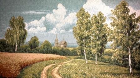 Дорога у поля - Гобелен