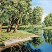 Дорога у реки - Гобелен