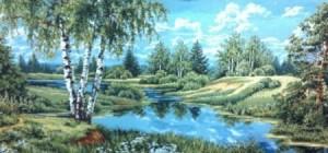 Пейзаж без уток - Гобелен