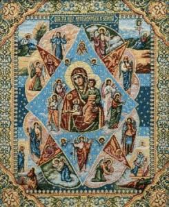 Икона Неопалимая Купина - Гобелен