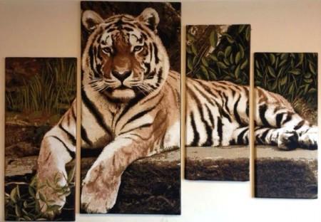 Тигр МОДУЛЬ - Гобелен