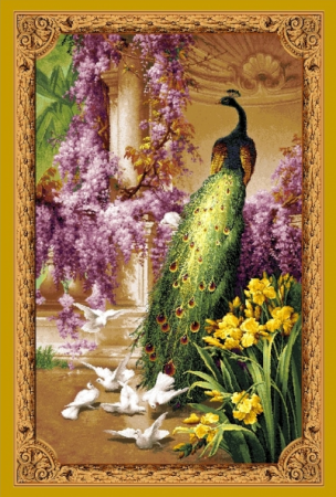 Королевский павлин - Гобелен