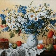 Белые лилии - Гобелен