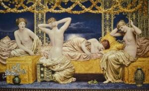 Летняя ночь - Гобелен