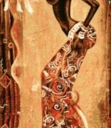Охота с беркутом - Гобелен