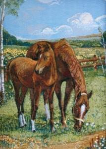 Лошади - Гобелен