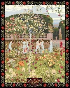 Люксембургский сад - Гобелен