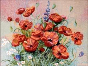 Маковый цвет - Гобелен