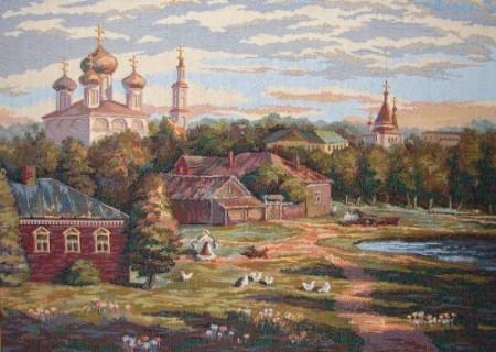 Московский дворик - Гобелен
