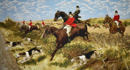 Охота с собаками - Гобелен