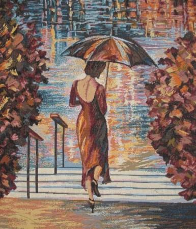 Серебрянный дождь - Гобелен