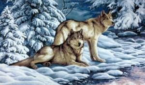 Серые волки  - Гобелен