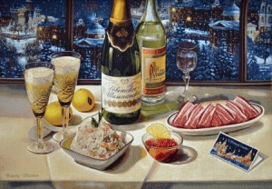 Советский Новый год - Гобелен