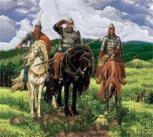 Три боготыря - Гобелен