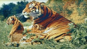 Тигрица - Гобелен