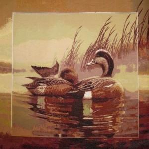Наволочка Утки в камышах - Гобелен