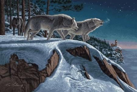 Волчья стая - Гобелен