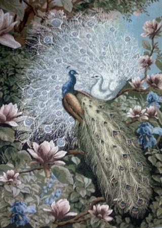 В райском саду  - Гобелен