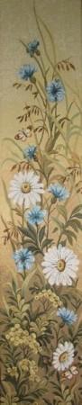 Васильковый цвет - Гобелен