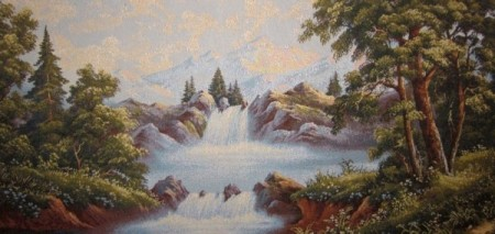 Водопад - Гобелен