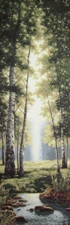 Зеленый лес - Гобелен