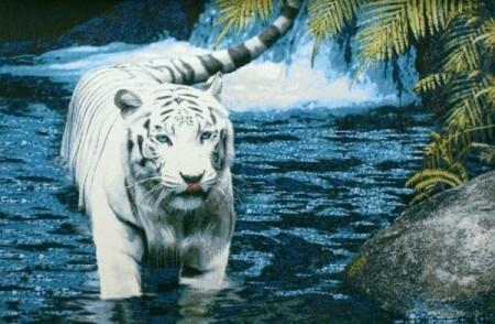 Тигр в воде - Гобелен