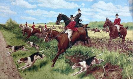 Английская охота - Гобелен