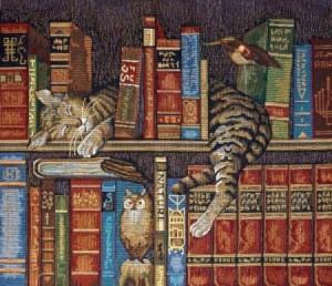 Библиотекарь - Гобелен