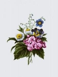 Бутаньерка маргаритка - Гобелен