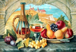 Дофине виноград - Гобелен