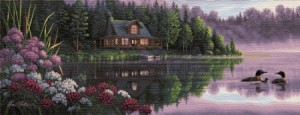 Дом у озера - Гобелен