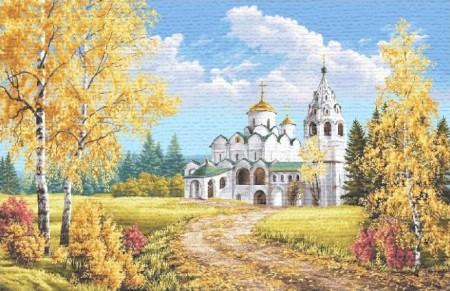 Храм у дороги - Гобелен