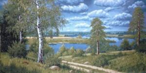 Дорога к реке - Гобелен