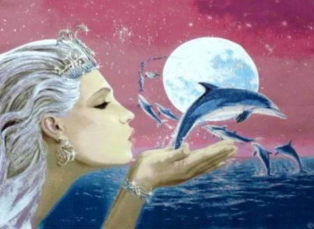 Фея дельфинов - Гобелен
