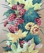 Красные розы - Гобелен