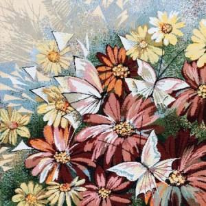 Наволочка Бабочки - Гобелен (МТОК)
