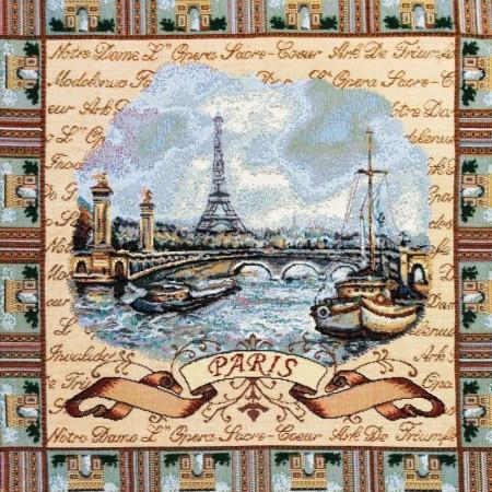 Наволочка Париж - Гобелен (МТОК)
