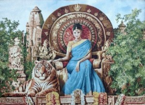 Индианка - Гобелен